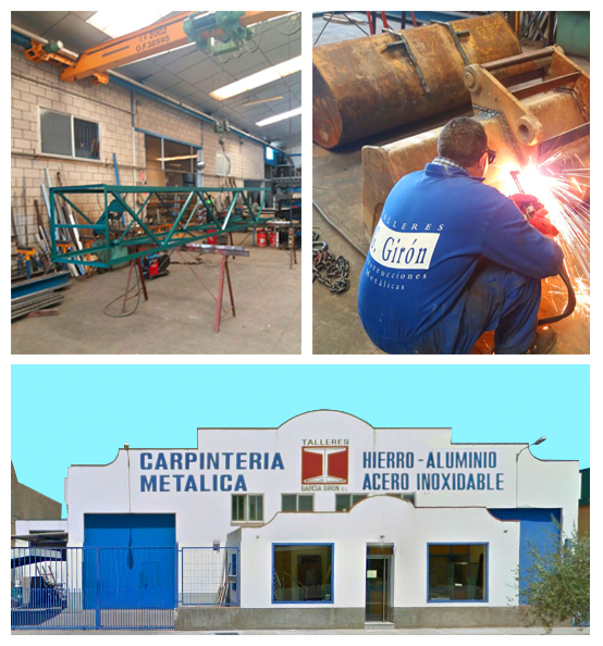 Carpintería Metálica en Hierro y Acero Inoxidable