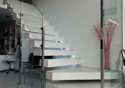 Escalera Local Oficinas en Badajoz